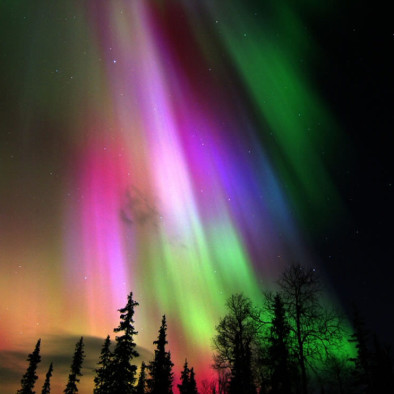 Colorful-Aurora-Borealis-in-Finland