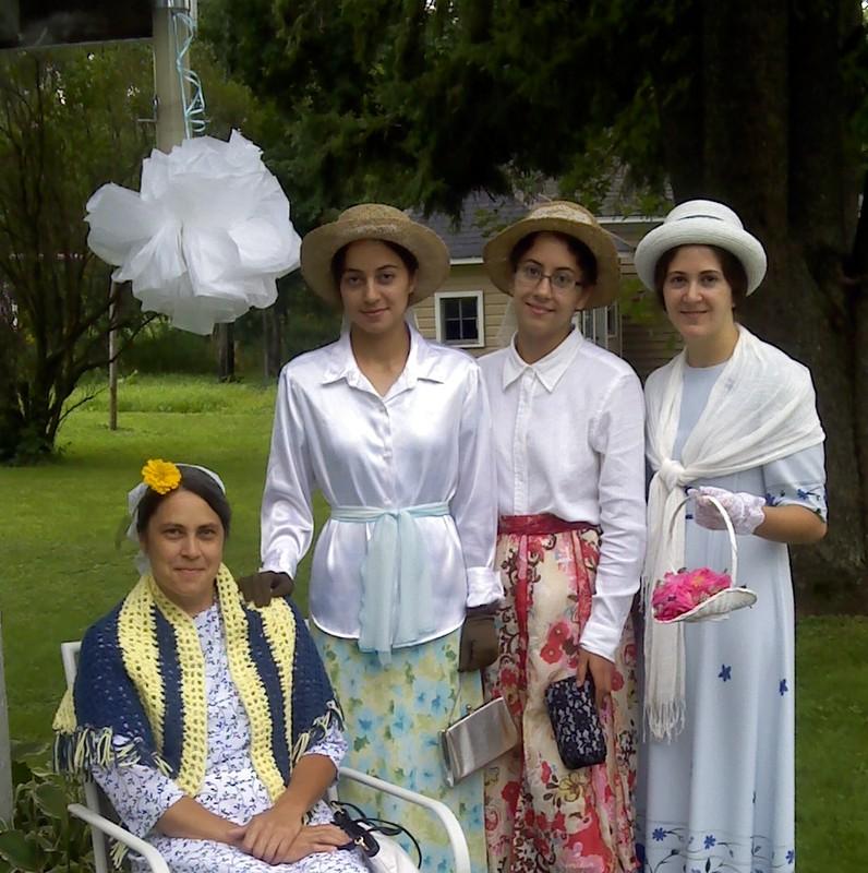 Mom, Kathy, Elizabeth, Luci