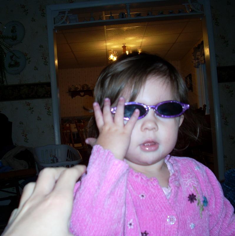 MacKenzie in Glasses