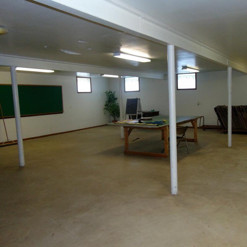 corner basement school