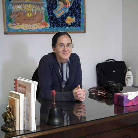 Luci Miller the school teacher