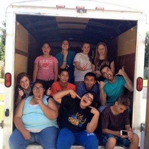 Moving Day with RISE kids