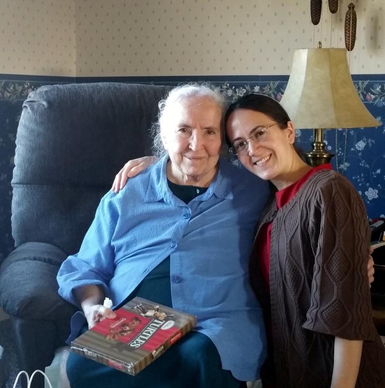 Grandma Miller and Luci
