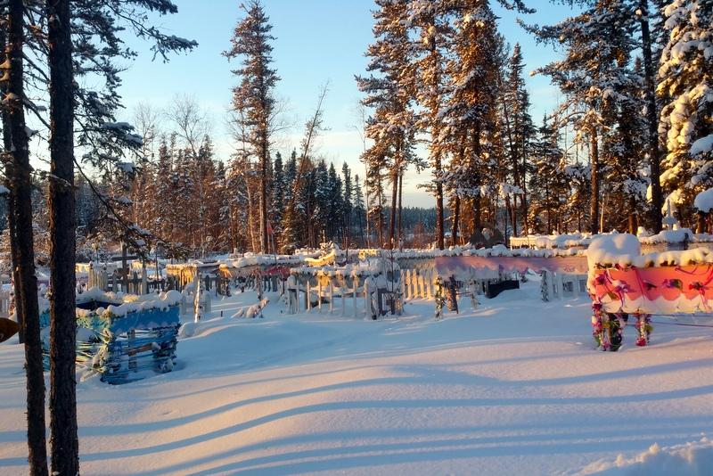 Deer Lake graveyard