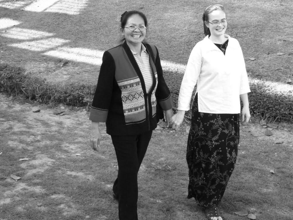 Lisl and Thai mom